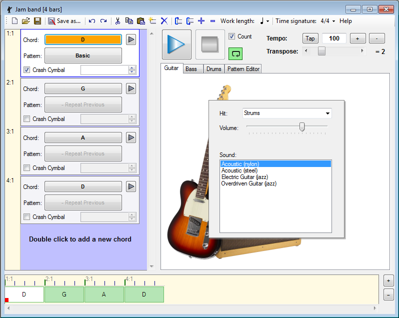 Guitar And Bass Software Features
